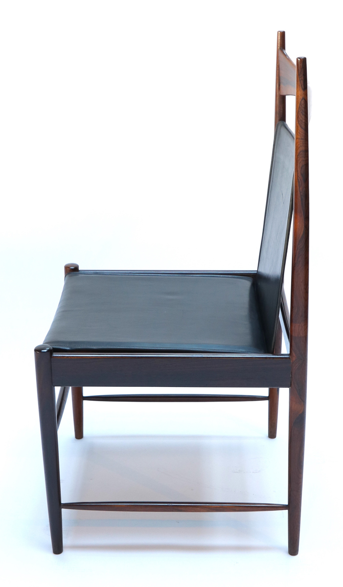Set Of 1960s Brazilian Jacaranda Cantu Chairs By Sergio Rodrigues