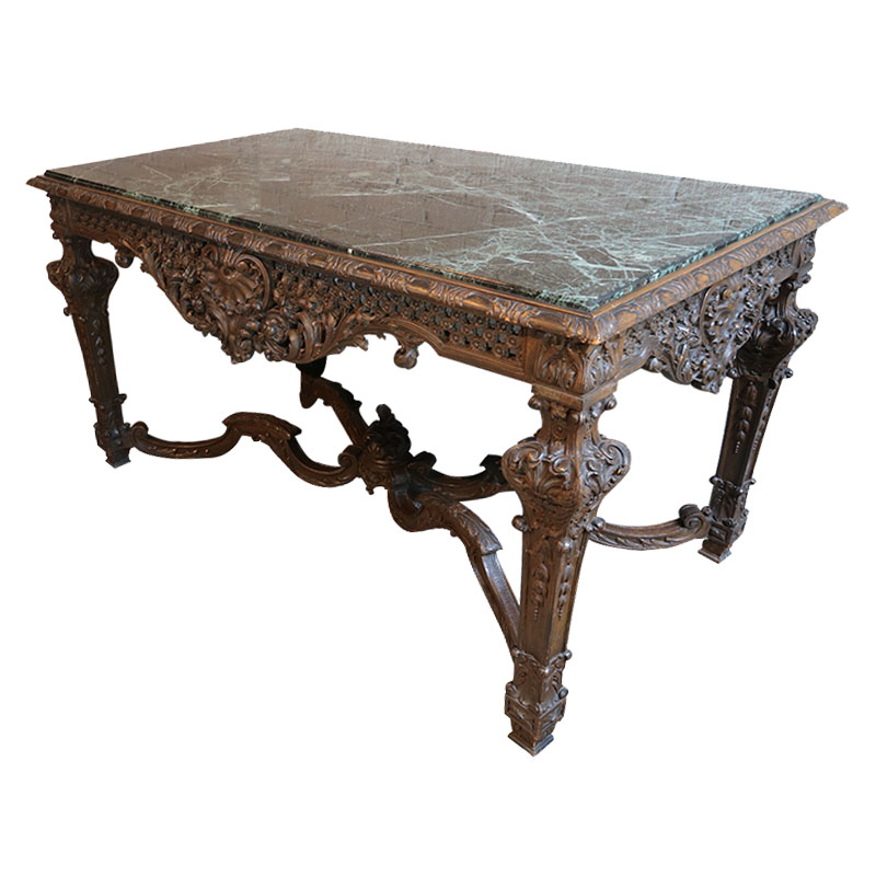 Exceptionnel 19th Century Louis XIV Italian Console Table ...
